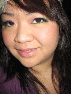 Date Look: Too faced palette, Revlon eyebrow liner, Revlon eyeliner, false lashes, Neutrogena foundation.