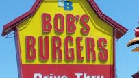 Bob's Burgers - big boy burger is quite satisfying - 4 x pretty good ratings from us! Boys Burgers, Burger King Logo, Pretty Good, Bob, Image, Bucket Hat, Bobs