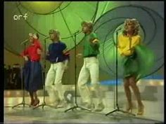 ▶ Eurovision 1981 - Bucks Fizz - Making your mind up; this is so 80s it hurts