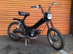 Cool retro Tomos  moped.