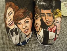 One Direction TOMS by LamaLand on Etsy  I know some girls that we would love these!