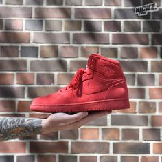 Air Jordan 1 Retro High (gym red/gym red) because true love is red!  @ kickz.com