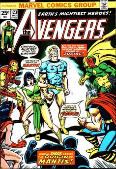 The Avengers (1963) Issue #123 - Read The Avengers (1963) Issue #123 comic online in high quality