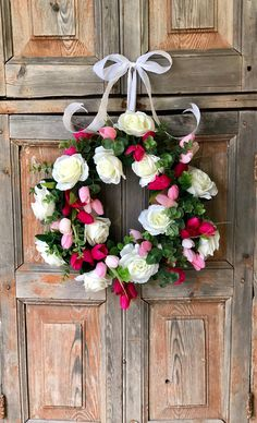 A personal favorite from my Etsy shop https://www.etsy.com/listing/579519980/the-valerie-spring-wreath-for-front