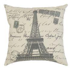 Eiffel Tower Pillow