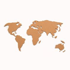 Cork board world map black decorao apt novo pinterest cork cork board world map black decorao apt novo pinterest cork boards cork and dorm gumiabroncs Gallery