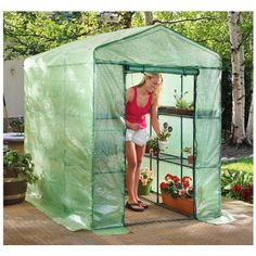 (CLICK IMAGE TWICE FOR PRICING AND INFO :) #greenhouses #greenhouse #portable #portablegreenhouses #gardengreenhouse #garden #gardening #gardengreenhouses - CASTLECREEK Deluxe Walk – in Greenhouse « OrganicWarfare.com