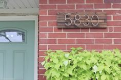 Updated House Numbers