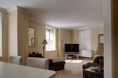 A furnished two bedroom in this beautiful and spacious renovated apartment of the #HeraldTowers