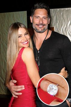 The 'Magic Mike' hunk reportedly popped the question on Christmas in 2014 with this stunning rock, estimated to be a whopping 6 carats.   - ELLE.com