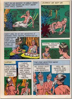 Buddha Shakyamuni Comic by Amar Chitra Katha page 16 #buddha #buddhism #buddhist #comic