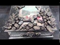 Kendi Yaptığımız Rusty Patina Boyalarla Mask Çalışması/Mask Panel with Rusty Patina Paint / DIY - YouTube