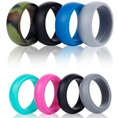 Silicone Wedding Ring Band4 PackSafe Flexible Comfortable Medical Grade Love Rings Set for Men Women Fit for Sports  Outdoors Workout Fitness Athletes Engineers Gift BoxSyourself Men 10 *** Details can be found by clicking on the image.Note:It is affiliate link to Amazon.