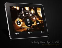 Infinity Menu App for iPad on the Behance Network