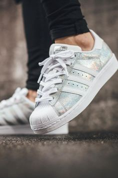 Superstar #glitter #adidas