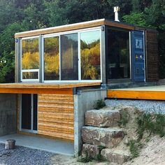 ALP 320 by MEKA in Brighton Canada #tinyhouse #architecture #home #micro #nature #tinyhomes #architect #house #modern #green #tinyhousemovement #cool #future #tiny #design #minimalist #greentinyhouse by greentinyhouse