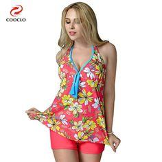 plus size swimwear print women beachwear two pieces tankini swimwear russia large cup plus size