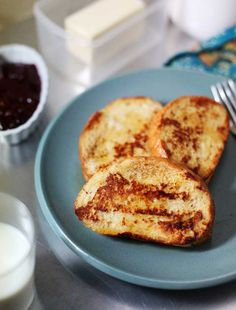 Challah French Toast Recipe--With orange infused maple syrup, this dish is perfect for breakfast or brunch.