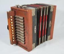 FINE ANTIQUE LUDWIG BUTTON ACCORDION 1900 vintage squeezebox concertina melodeon Button Accordion, Magazine Rack, Bookends, Antique, Vintage, Storage, Furniture, Home Decor, Purse Storage
