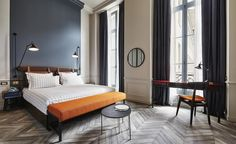 The Hoxton hotel, Paris, France | Several years in the making, the Paris edition of The Hoxton has finally swung open its doors, marking the fourth property for the burgeoning hotel group. #parishotels #beautifulhotels #travel