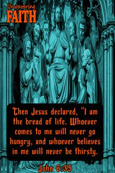 Discover what The Good Book has to say about Jesus Christ. Check out our Christian Image Gallery now. Praise Quotes, John 6 35, Christian Images, Jesus Loves Me, Jesus Christ, Christianity, Good Books, Bible, Faith