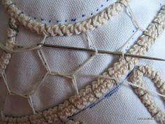 Tutorial macrame rumeno, point lace, laseta, pizzo rinascimento uncinetto,trine,cordoncini,merletto ad ago,disegni,ricamo,uncinetto, Crochet Doily Patterns, Tatting Patterns, Lace Patterns, Crochet Designs, Russian Crochet, Irish Crochet, Wire Crochet, Crochet Lace, Crochet Doilies