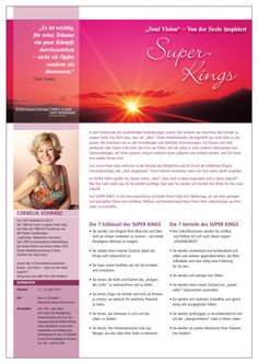 SUPER KINGS 11.-13. April 2015 mit Cornelia Schwarz