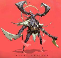 ArtStation - Maori Warrior, Tan Zhi Hui