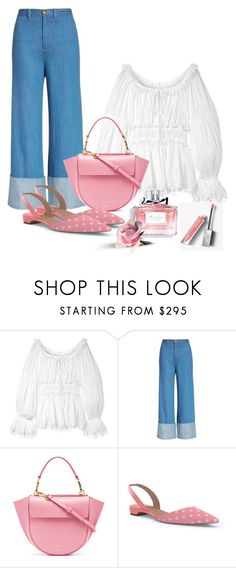 """""""Pretty Pink for Spring"""" by surfergirl3915-1 ❤️ liked on Polyvore featuring Dolce&Gabbana, Sea, New York, Wandler, Paul Andrew, Christian Dior, Burberry, fashionable, fashionset, polyvoreeditorial and polyvorefashion"""