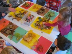 Sorting through the colors of fall by @Teach Preschool