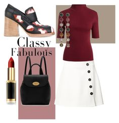 """Classy and Fabulous"" by amelika2003 on Polyvore featuring мода, Marni, Misha Nonoo, Mulberry, Gucci и L'Oréal Paris"
