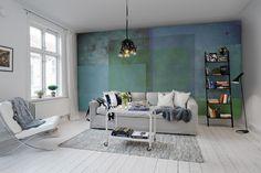 Screen, emerald R12291 wallpaper | Rebel Walls