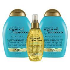 OGX Renewing + Argan Oil of Morocco Shampoo - 13 fl oz, Size: 13 Ounce - Hair Products Ogx Shampoo, Good Shampoo And Conditioner, Moisturizing Shampoo, Hair Shampoo, Curl Shampoo, Argan Oil Of Morocco Shampoo, Argon Oil, Best Hair Care Products, Best Shampoos
