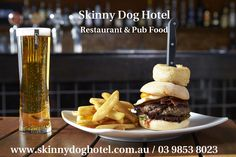 The Skinny Dog Hotel, Pub & Restaurant located in middle of Kew's High Street in Melbourne with comfy booths, dining, a beer garden, sports bar and function spaces.