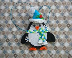 Christmas ornament Christmas tree toy Christmas by QuillingLife