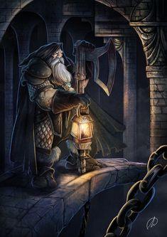 Dwarf Cavern, by The Monkey José David Lanza
