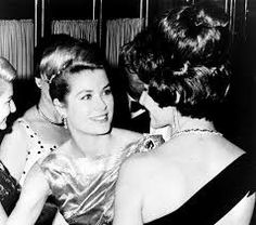 Simply lovely!                                      Princess Grace with Maria Callas by Fotogreca Press Archive, Greece in the 1960's