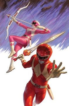 Kimberly and Tommy - Mighty Morphin Power Rangers