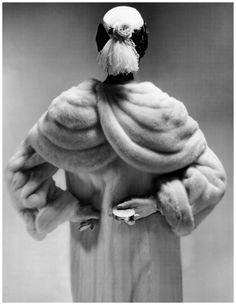 Erwin Blumenfeld. Vogue, 1953.