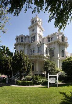 California's Governor's Mansion, Sacramento, California.