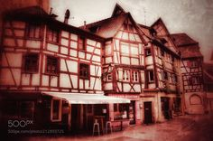 French architecture. -