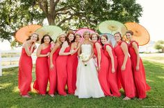 Google Image Result for http://thebeautybridal.com/wp-content/uploads/2012/06/Red-Bridesmaid-dresses.jpg