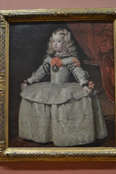 size: Giclee Print: Portrait of the Infanta Margarita by Diego Velazquez : Artists Infanta Margarita, Diego Velazquez, Great Works Of Art, Spanish Artists, Oil Painting Reproductions, Image Collection, Art History, European History, Giclee Print