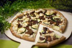 Low carb Gyros-Pizza - schwarzgrueneszebra