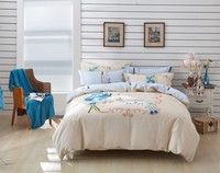 100% high quality cotton 133*72 40S*40S, soft and comfortable feeling. You will sleep better and wak