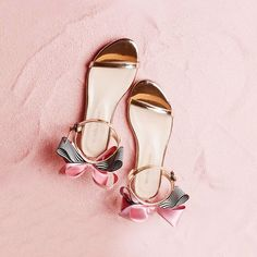 Lolita Women Bowknot Metallic Flat Sandals sold by Tony Moly Store. Shop more products from Tony Moly Store on Storenvy, the home of independent small businesses all over the world. Lolita Shoes, Metallic Flats, Flat Sandals, Take That, Footwear, Heels, Silver, How To Wear, Things To Sell