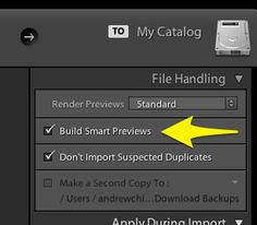 Photography Tips & Tutorials | Lightroom 5 Smart Previews