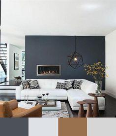 Combinación de colores para un salón