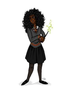 POC Hermione for a super cool zinei'm participating in!