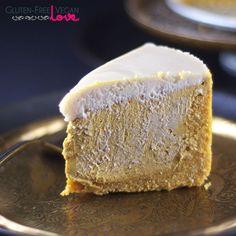 Gluten-Free, Vegan, and Paleo Pumpkin Cheesecake